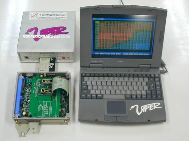 コンピューターチューニングもお任せください!専用解析機にて現車合わせでのセッティングが可能です