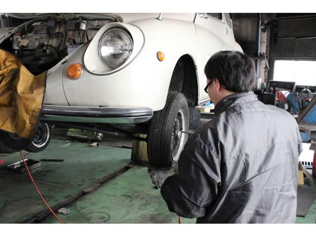 他店で断られた古い車両も当店なら整備可能です!