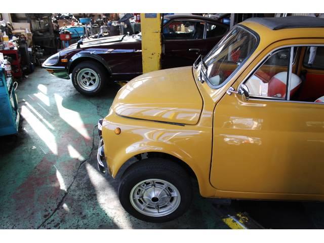 旧車や希少車の整備・修理にも自信があります!