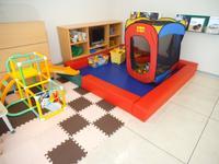 キッズスペースを準備しております♪お子さんと一緒に、ご家族で遊びに来て下さい♪