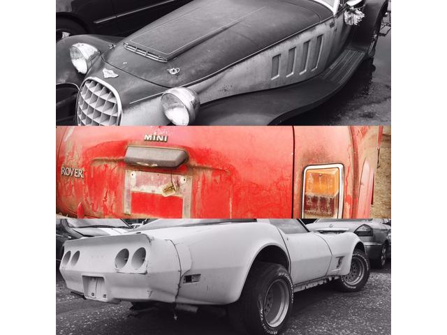 レア車、珍車、名車等、部品取り車も多数保有しております。
