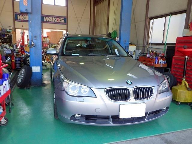 BMW 525i E61 オーバーヒート警...