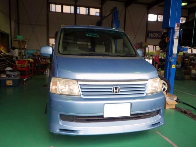ホンダ ステップワゴン エンジンチェックランプ点灯修理 ノックセンサー交換 松戸市 グーネットピット