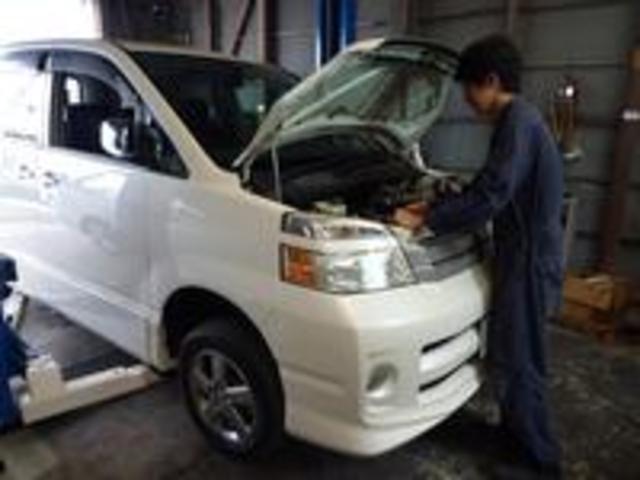 車検整備はお客様が安心して2年間お乗りいただく為に必要な車検を常に考えご提案させて頂いています。