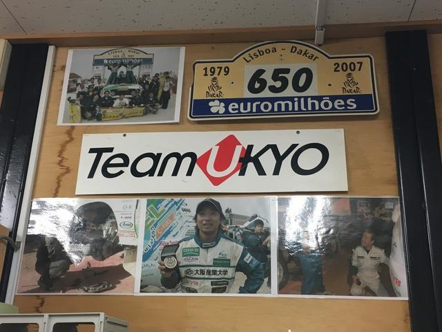 レース経験豊富なスタッフが、様々な整備、修理を行います