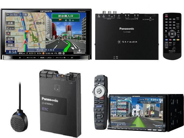 社外ナビ、地デジチューナー、ETC、ドライブレコーダー等の取付も行っております