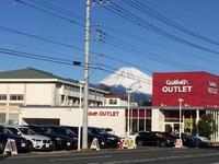 136号線沿い。美しい富士山が臨めます。