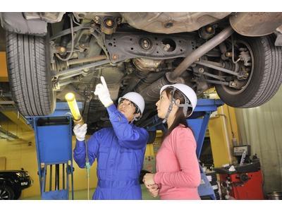 自動車整備技術スーパーアドバイザーが在籍