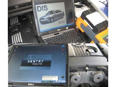 輸入車の車検に欠かせスキャンツール完備
