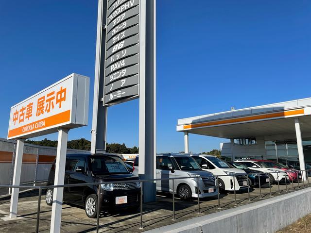 トヨタカローラ千葉株式会社 八日市場店U-Car展示場