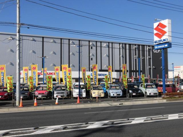 当店は国道129号線沿いにございます。大きなスズキの看板が目印です!!