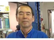 整備・営業担当 篠崎