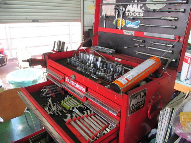 当店の工具です。年々手になじみます。