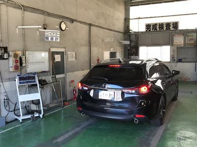 1day車検も可能な民間車検工場!