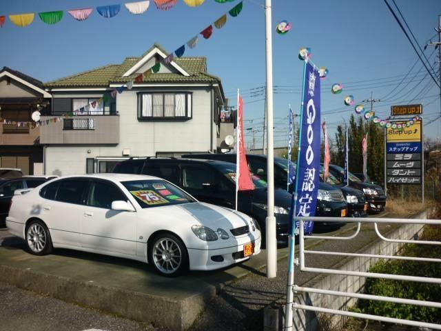 低価格で綺麗なセダン・ミニバン・1BOX・コンパクトカー・軽自動車まで幅広く常時在庫しております!
