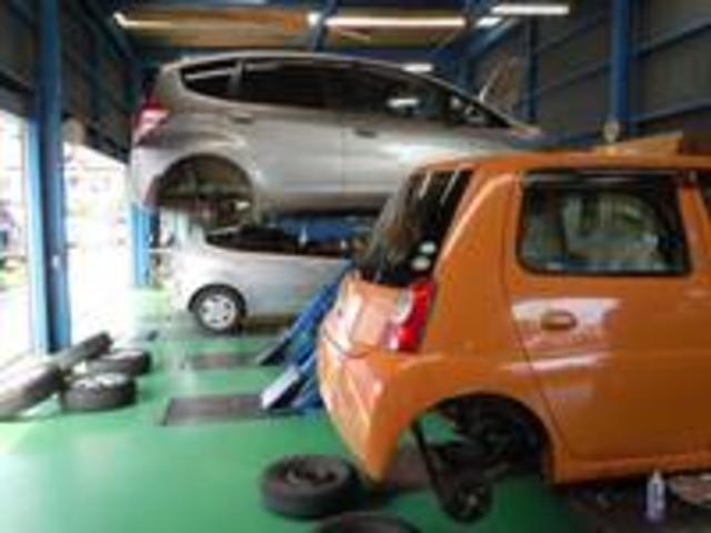 購入時の整備・点検はもちろん購入後のメンテナンスや車検も格安にて承ります!