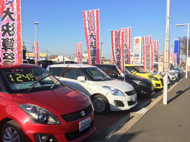 人気のコンパクトカーに軽自動車、高品質の車輌のみを多数展示しいますので、お気軽にご来店下さい♪