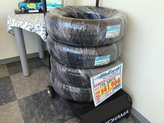 タイヤ販売も行っております。お気軽にご相談下さい。