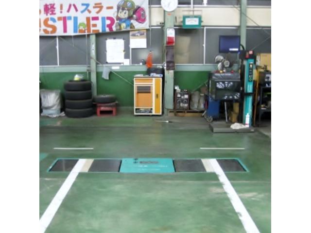 ヘッドライトロービーム検査可能、サイドスリップ点検・調整・排気ガス検査・ブーツ交換・球切れ・各種対応