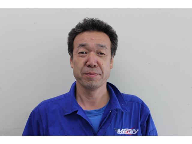 整備歴25年の久保田です。ボルトの1本を締めるところから妥協を許しません。