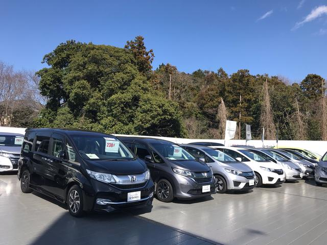 Honda Cars東葛 U-Select我孫子 中古車展示スペース 店頭車両もたくさん!