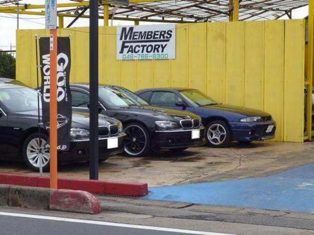 BMW、ベンツ、アウディなどの欧州車からアメ車まで幅広く対応。