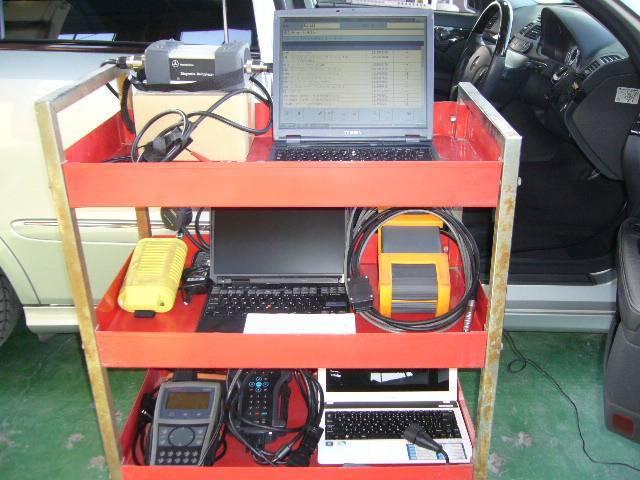 各メーカー診断機ももちろん完備しています。
