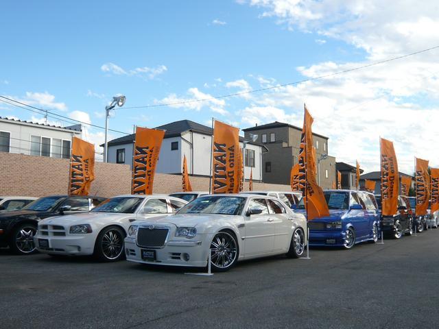 千葉県最大級のAカー専門店です。流行の車でもレアなアメ車も厳選して仕入れた物を販売してます。