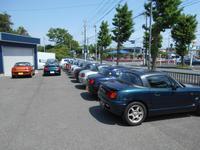 カプチーノをたくさん展示しています。30年近く経過している車両なのでご希望に合う車を提案します。