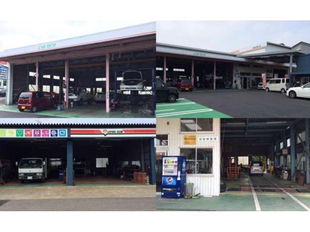 関東陸運局認証の自社工場です。整備はお任せください!オートローンOKです!