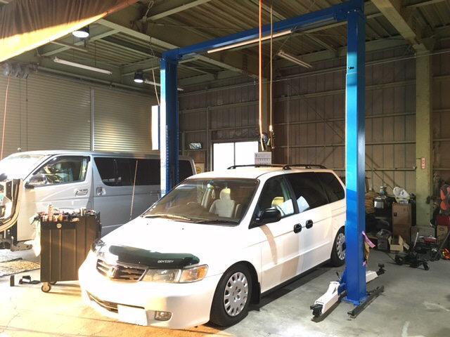 車検整備・法定12ヶ月点検・故障修理・ナビ取り付けお車に関することなんもご相談ください