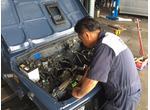 エンジンを載せ換える重整備も得意分野です