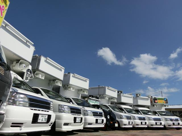 選挙カーを30台保有、パレードカー、キッチンカーの製作、レンタルも行っております。