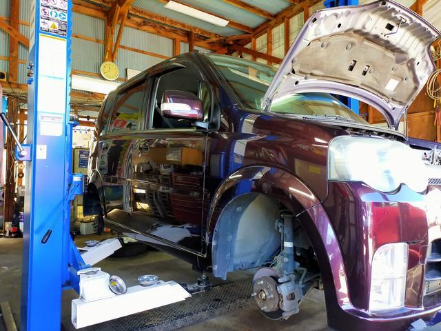 車両販売・リース・車検・点検・修理・パーツ取付・鈑金塗装・タイヤ交換まで何でもお気軽にお申し付けを♪