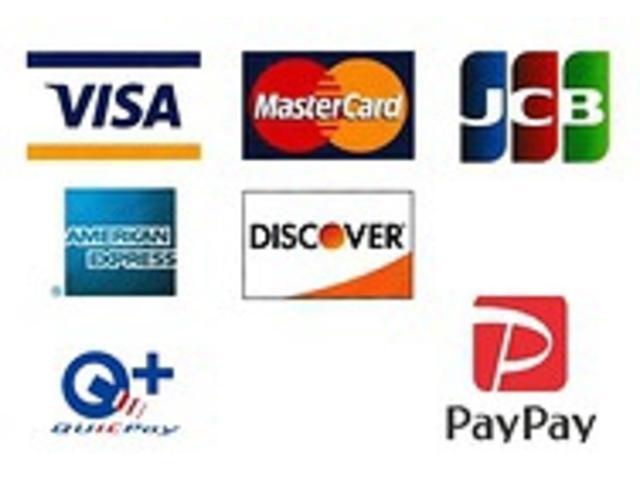 各種カードやPayPayでのお支払いが可能です。
