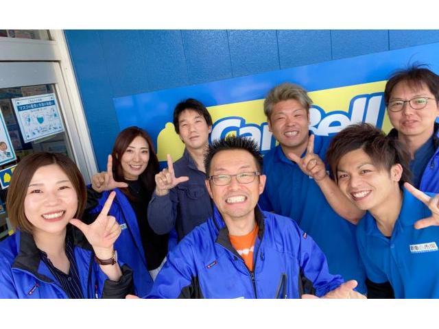 新車市場カーベル静岡のスタッフ★30代スタッフを中心に今日も元気いっぱいに営業中