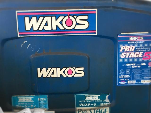WAKO'Sのオイル&ケミカルも常備してますのでお気軽にご相談下さい!!