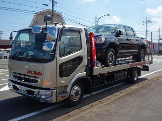 積載車にて日本全国ご自宅まで納車にお伺いいたします!遠方のお客様もお気軽にご相談ください!