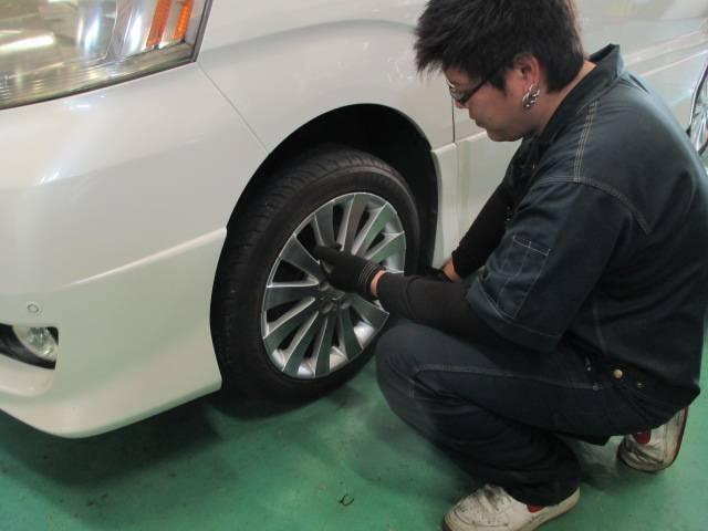 任せて安心タイヤ交換!