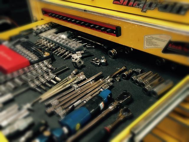 各種工具にも拘りを持っております。最適な工具で最適な施工を行います。
