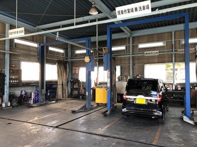 自動車の修理整備は安心の指定工場に!!