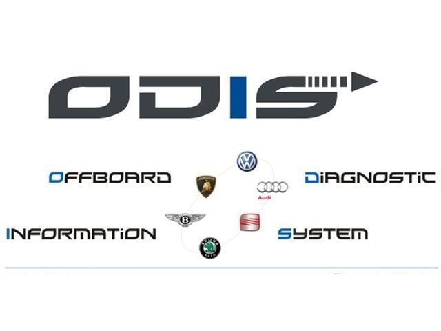 Volkswagen/Audi専用診断機ODISを導入しています。