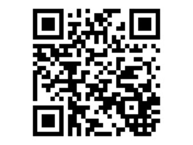 スマートフォンやタブレット端末からも簡単アクセス。以下のQRコードをご利用ください
