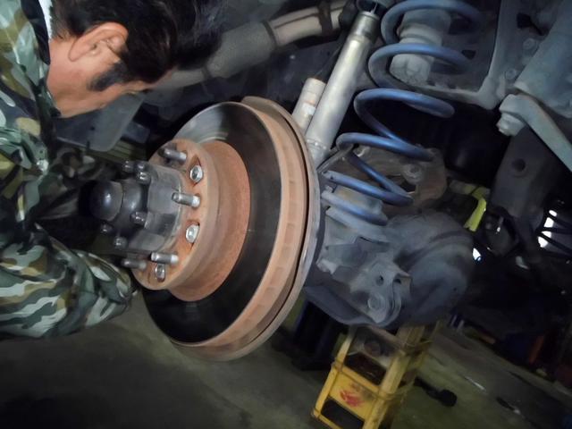 ブレーキは特に注意をして点検・整備をいたします