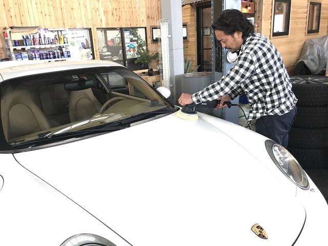 全ての在庫車に対しボディケア・内装クリーニングを施工しております!!