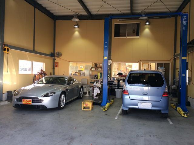 近畿運輸局長認証工場で、安心の整備と点検。