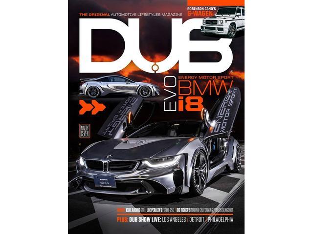 BMW/i8をベースとしたコンプリートカーEVO i8が世界を圧巻し、超有名海外雑誌の表紙に!!