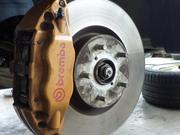 サスペンション、各アーム類、ブレーキなどの足回り修理