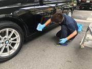 洗車、ホイール洗浄、室内クリーニング実施