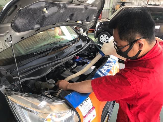 最近エンジンオイルの交換はされましたか?